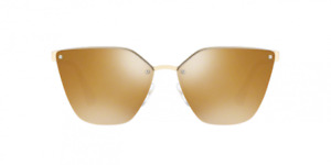 PRADA PR 68TS ZVN5N2  63[]15 140,Pale Gold, Polarised RRP £299