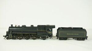 Overland Models HO Brass Reading GLSa 4-6-2 Steam Engine and Tender OMI 1566
