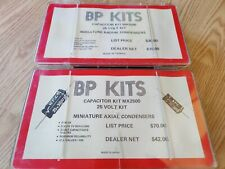 Huge Lot Of Capacitors Electrolytic Various Values Bp Kit Axial Radail Condenser