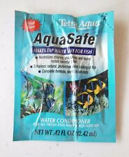 Tetra Aqua Safe Water Conditioner for Fresh & Marine Aquariums Trial Size