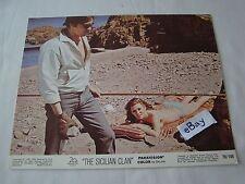 1969 THE SICILIAN CLAN Alain Delon Movie Lobby Card Press Photo 8 x 10 J