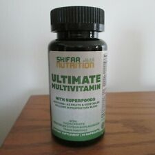 SHIFAA Nutrition Ultimate Multivitamin Superfood for Women & Men 60 Capsules NEW