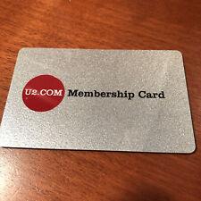 U2.Com Official U2 Fan Club Metal Membership Card offer Silver one 2004 likely