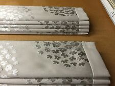 Laura Ashley coco dove grey made to measure roman blinds (without border)