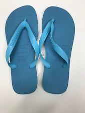 Havaianas TOP Women's Flip Flops Blue Splash Pick Size 35/36 37/38 39/40 41/42