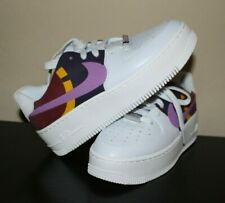 Nike Women's Air Force 1 Sage Low LX Grey Dark Orchid BV1976 003 Size 6