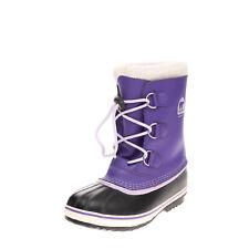 SOREL Kids Snow Boot Size 25 UK 7 US 8 HANDCRAFTED Contrast Leather Waterproof