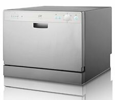 Spt Sd-2202S Countertop Dishwasher with Delay Start Silver