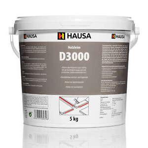 Holzleim Wasserfest Weißleim D3 Leim lösemittelfrei Holzkleber Bastelkleber 5kg