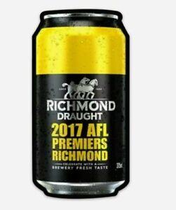 Carlton Draught Richmond Premiers 2017 Magnet (64 mm x 125 mm)
