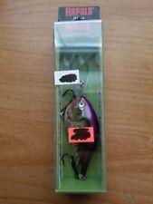 Rapala DT-16 Dives-To Crankbait, DT16 POC Purple Olive Craw