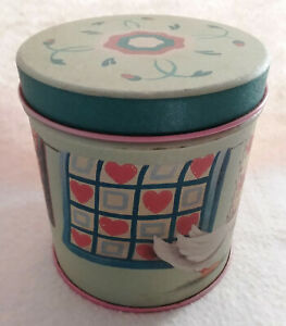 Duck with Quilts Decorative Tin Box