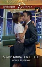 Sorprendida con el jefe: (Caught with the Boss) (Harlequin Deseo) (Spanish