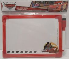 Dry Erase Board DISNEY CARS Double Sided Drawing Message