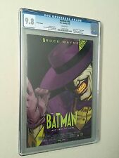 CGC Graded 9.8 BATMAN #40 VARIANT COVER (DC COMICS) The Mask Movie Poster