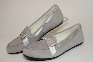 Vionic Alice Suede Moccasin Slipper Womens Size 9 41 Flat Comfort Shoes 10010103
