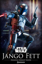 Sideshow Star Wars Jango Fett Premium Format Statue Figure New In Stock 300149