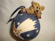 Collectible Tbc 1996 Angel Bear On Christmas Ball #010
