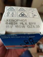 64634 HLX 150W 15V GZ6.35 OSRAM EFR A1/232 gz6,35 optic 64634HLX Germany