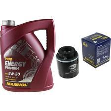 Ölwechsel Set 5L MANNOL Energy Premium 5W-30 + SCT Ölfilter Service 10164355
