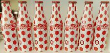 Lot of 7 unopened Denmark Euro 2008 Coca-Cola alu bottles 250 ml