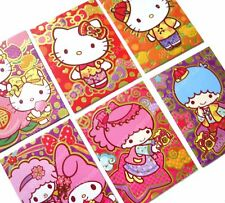 Hello Kitty My Melody Little Twin Stars Chinese new year red packet envelope 24p
