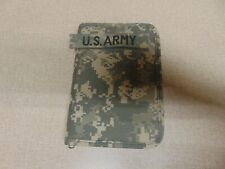 Genuine Us Military Acu Camo Zippered Pocket Book Calendar Planner Mercury Army