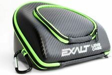 New! Exalt Paintball Carbon Series Universal Lens Case Black/Lime Free Shipping