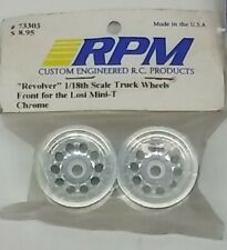 RPM Revolver Front Wheels For Losi Mini-T