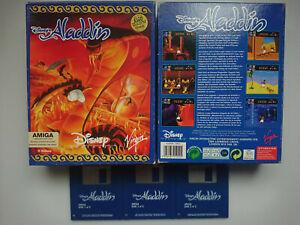 Disney Aladdin Game Commodore Amiga 500 600 1200 from Big Box