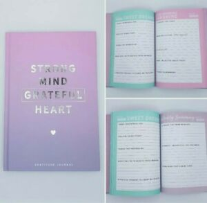 Gratitude Journal Strong Mind Grateful Mental Health Anxiety Mindfulness Diary