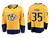 Pekka Rinne Nashville Predators #35 stitched jersey men's player game