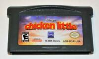 DISNEY'S CHICKEN LITTLE NINTENDO GAME BOY ADVANCE SP GBA