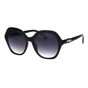 Spike Design Sunglasses Womens Fashion Square Frame Shades UV 400