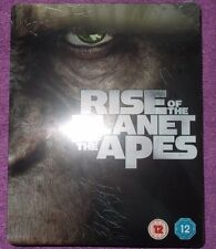 Rise Of The Planet Of The Apes Steelbook Blu-Ray  New & Sealed Very Rare OOP
