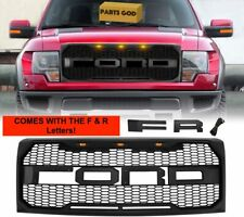 For F-150 Raptor SVT Style Grill 2009 2010 2011 2012 2013 2014