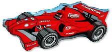 Formula Racing Car Balloon 26 Inch Foil Balloon - Red