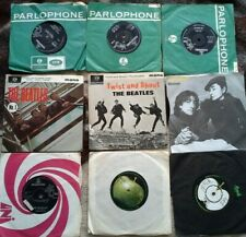 "Compilation 9 Singles The Beatles 6 x 2x Lennon Good/very good 7 "" single vinyl"