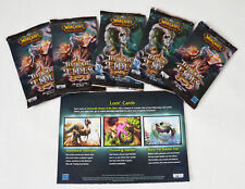 WoW TCG 5x Throne of Tides Booster Packs - World of Warcraft - Loot Chance