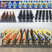 20 X Fit  COMPATIBLE STAR WARS BATTLE DROID MINI FIGURES ARMY NEW