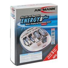 Ansmann 5207442/UK Energy 8+ NiCd/NiMH Charger