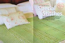 CROCHET PATTERN Lace Design Blanket Lattice Panel Throw Home Patons PATTERN