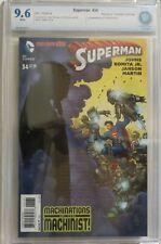 Superman vol 3, #34 - John Romita, Jr. Variant Cover 1:50 - CBCS 9.6 (NOT CGC)