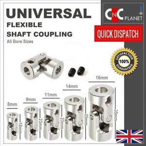 Universal Flexible Shaft Coupling Coupler Motor U Joint Connector RC Boat Metal