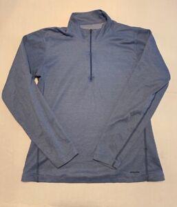 Patagonia Capilene 1/4 Zip Pullover Women's Medium