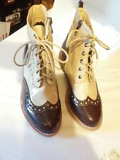 Wanted Shoes Womens Rain Tan brown Ankle Lace Boot Tan Size 6 M US new