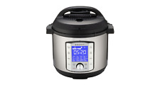 New Instant Pot Duo Evo Plus 6 Quart Stainless Steel Pressure Cooker Silver