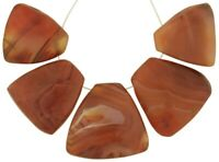 Old African trade beads Carnelian Agate stone beads pendants Cambay India