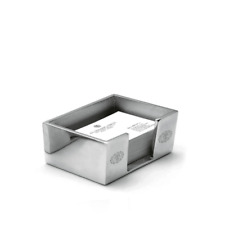 Porta carte Spalding & Bros A.G. oggetto scrivania alluminio 10,5x8xx6 cm 862852