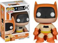 FUNKO POP SUPER HEROES DC COMICS #01 BATMAN 75th ANNIVERSARY (ORANGE) VINYL 🎨